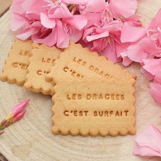 Shanty biscuit alternative originale aux dragées