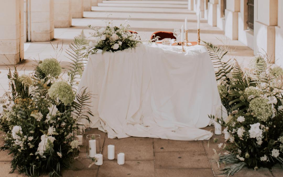 Installer sa décoration de mariage